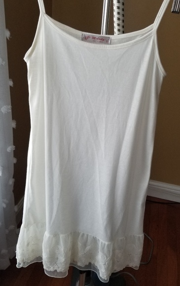 Melody Other - Ivory slip size Small